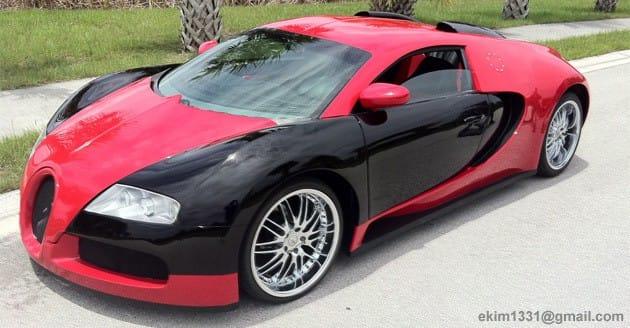 Bugatti Veyron pro masy. Za 1,5 milionu korun