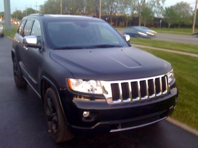 Špionáž: Nový Jeep Grand Cherokee zachycen v USA