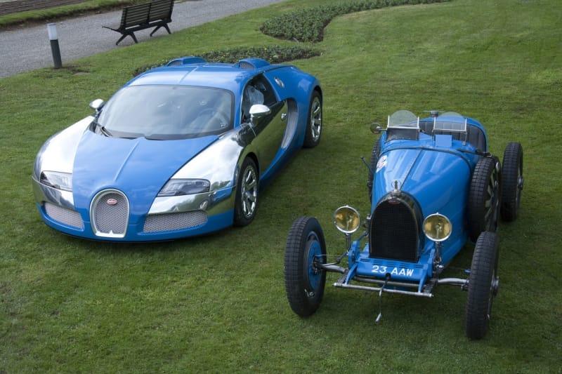 OBRAZEM: Bugatti Veyron na výstavě Villa d'Este