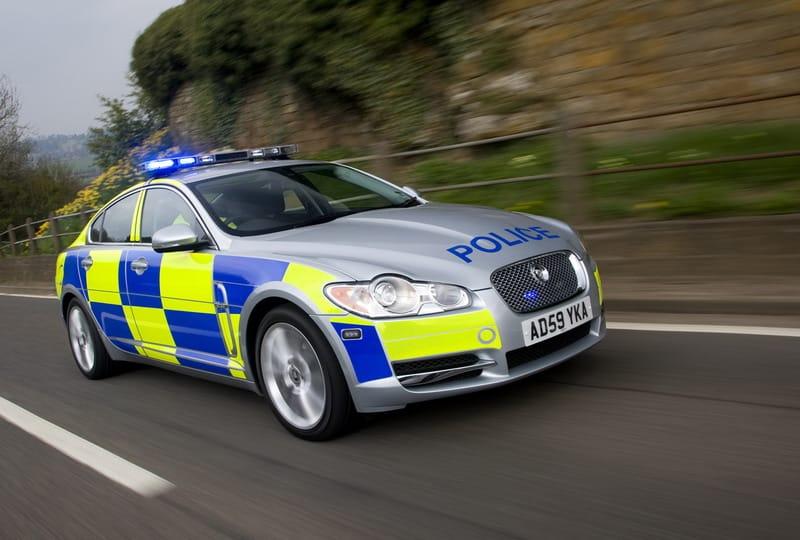 Nová posila pro britskou policii: Jaguar XF