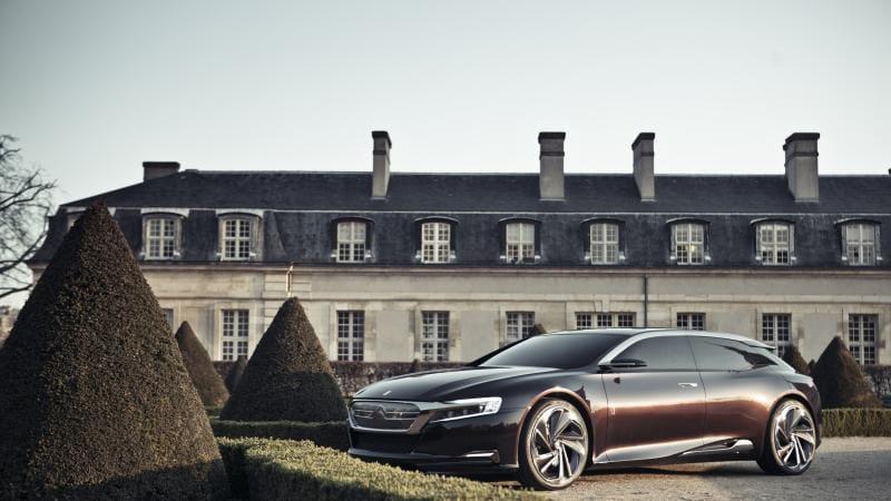 Citroën má koncept Numéro 9, předobraz top modelu DS9