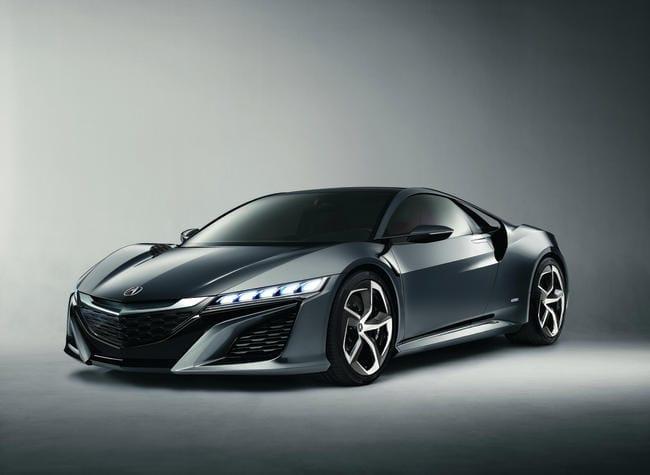 Honda NSX se rýsuje. Koncept supersport-hybridu se představí v Ženevě