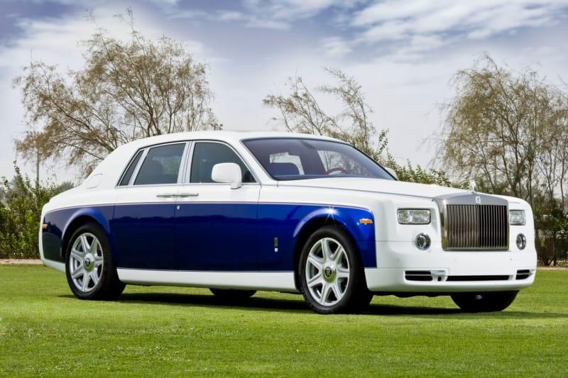 Rolls-Royce Phantom Yas Eagle: modrá pro Abú Dhabí