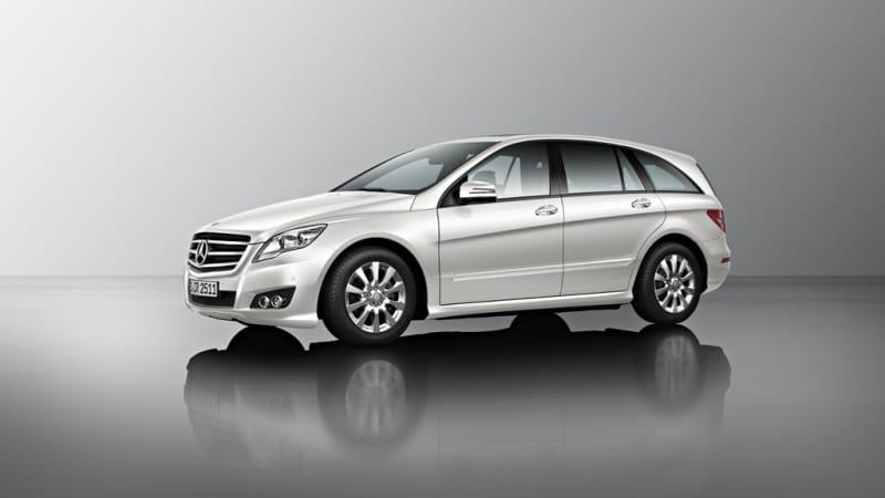 Mercedes-Benz R po faceliftu: snímky ještě před premiérou