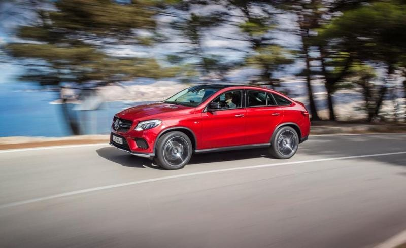 Mercedes-Benz GLE Coupé: novinka kopíruje BMW X6