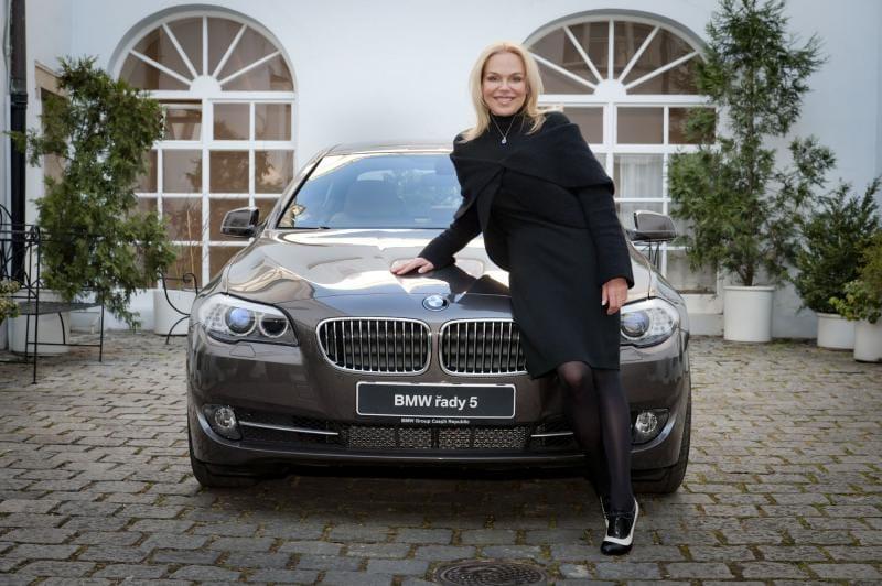 Dagmar Havlová jezdí v BMW řady 5