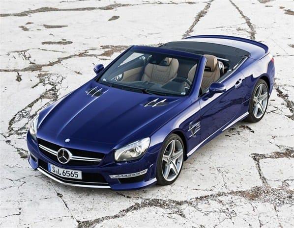 Mercedes-Benz SL65 AMG: V12 a 630 koní