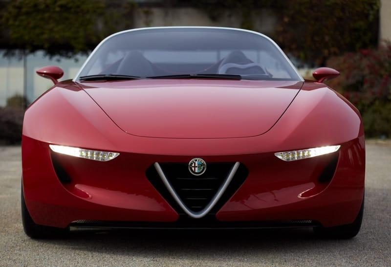 Ženeva 2010: koncept Alfa Romeo 2uettottanta by Pininfarina