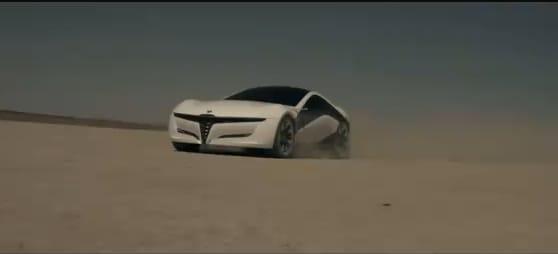 VIDEO: Futuristický Alfa Romeo Pandion Concept v pohybu