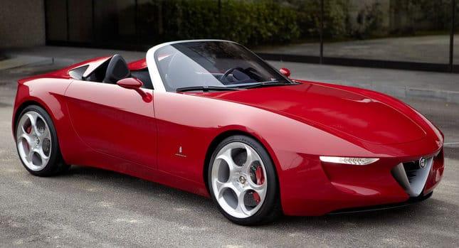 Alfa Romeo Spider na základě Mazdy MX-5: už za dva roky