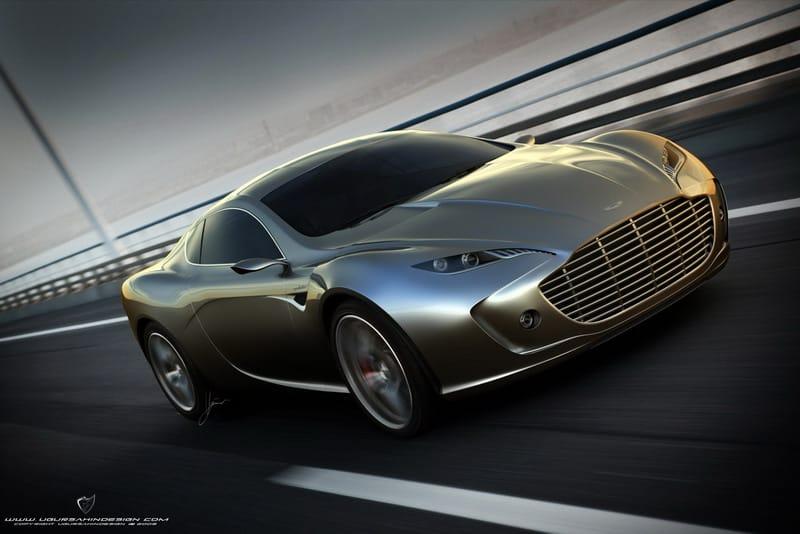 Koncept Aston Martin Gauntlet: známý designér se znovu předvádí