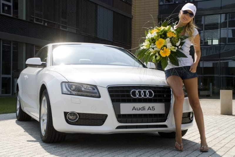 Michaela Ochotská má nové auto: Audi A5 Coupé