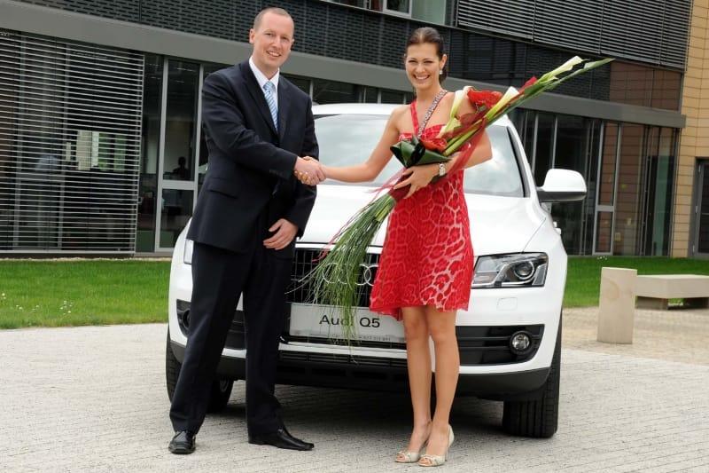 Modelka Jana Doležalová má nové auto: Audi Q5