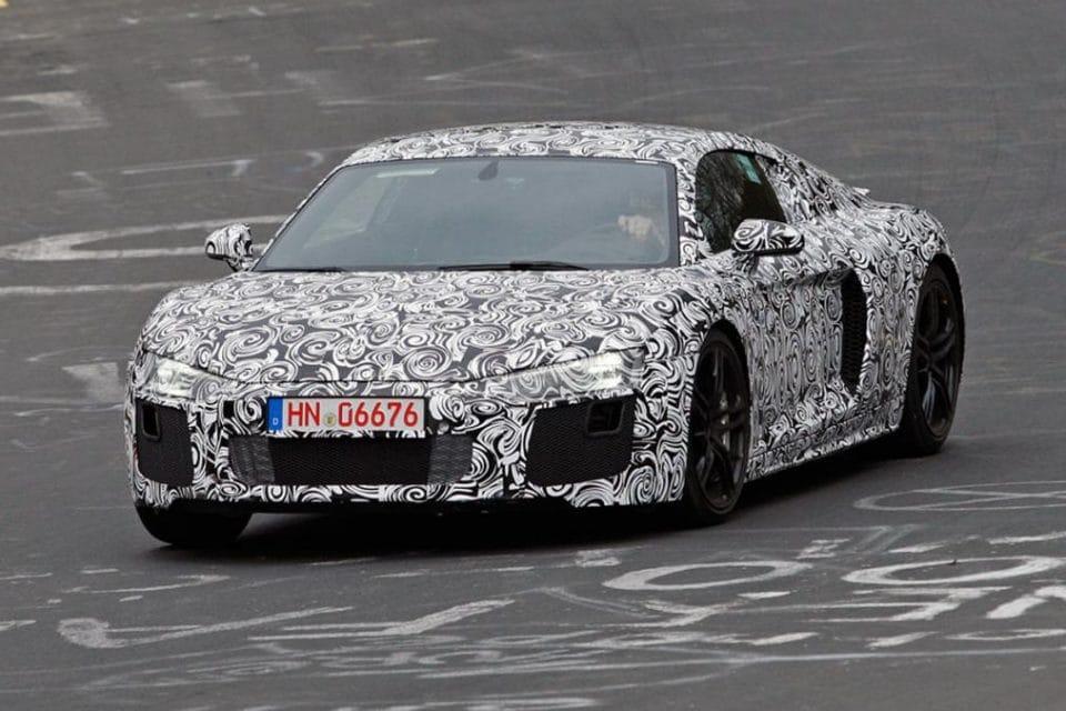Nová Audi R8 2015 se představí v Ženevě