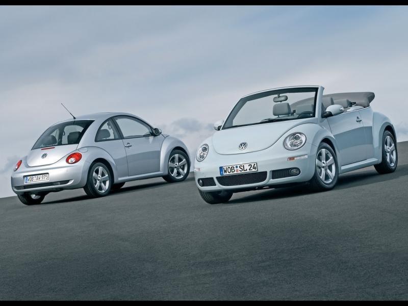 Nejoblíbenější auto slečen a dam: Volkswagen New Beetle