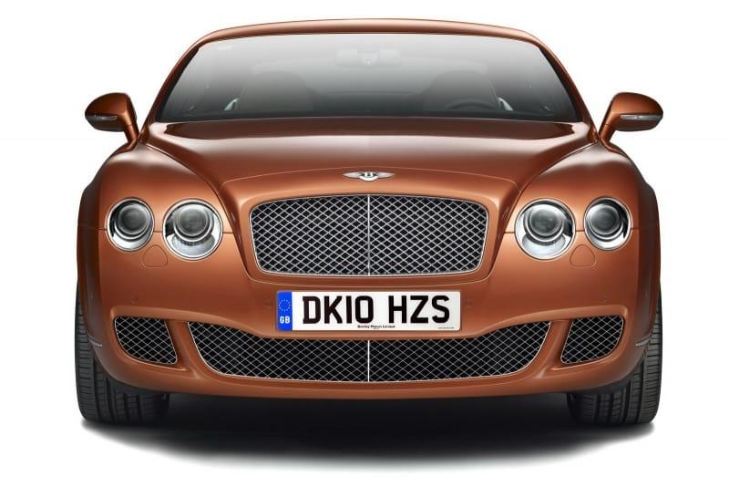 Bentley Continental: dvě edice pouze pro čínský trh