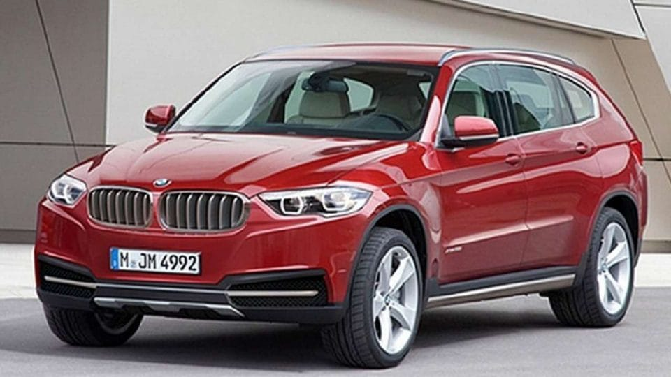 BMW X7: příbuzný Rolls-Royce SUV přijde v roce 2018