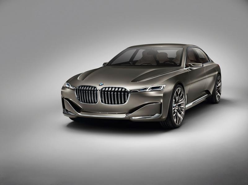 Připravuje se BMW 9, odpověď na S-Klasse Maybach