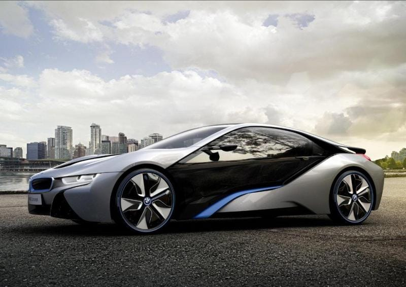 Ekologický sporťák z Mnichova: BMW i8
