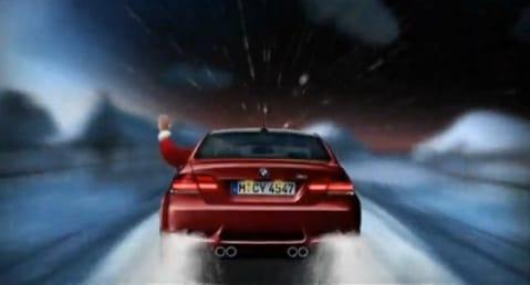 VIDEO: Veselé Vánoce přejí sobi a BMW M3
