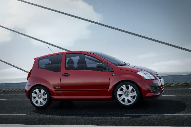 Citroën redukuje výbavy modelu C2