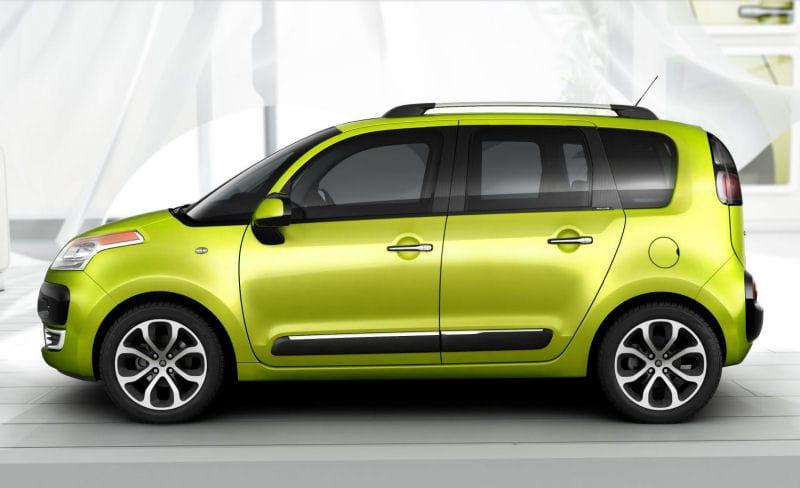 Citroën C3 Picasso: netradiční kompaktní MPV