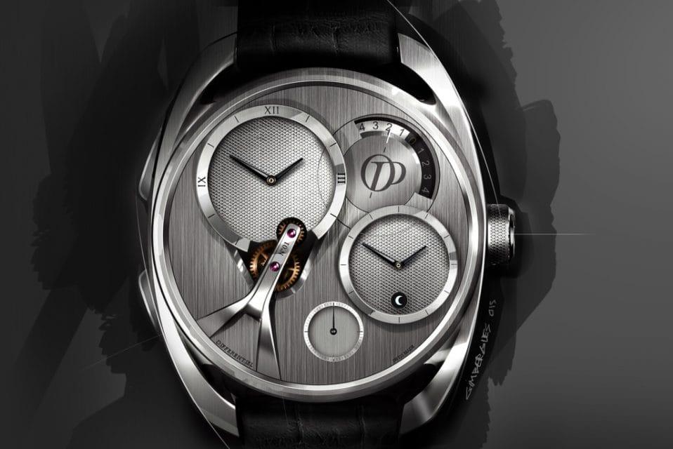 Peugeot navrhl design hodinek pro vynálezce diferenciálu