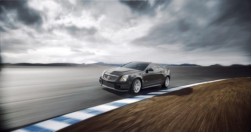 Cadillac CTS-V Coupe: sexy tvary a 556 koní