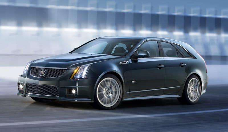 Cadillac CTS-V Sport Wagon: rodina Véček je kompletní