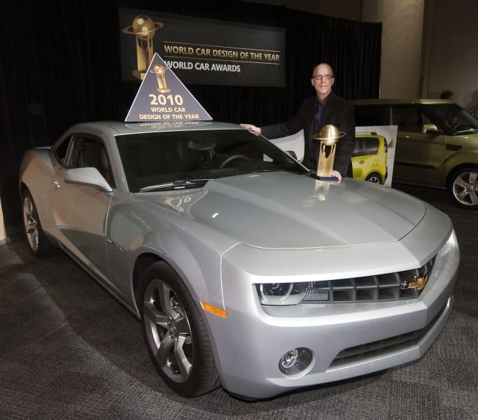 Chevrolet Camaro získal ocenění za design