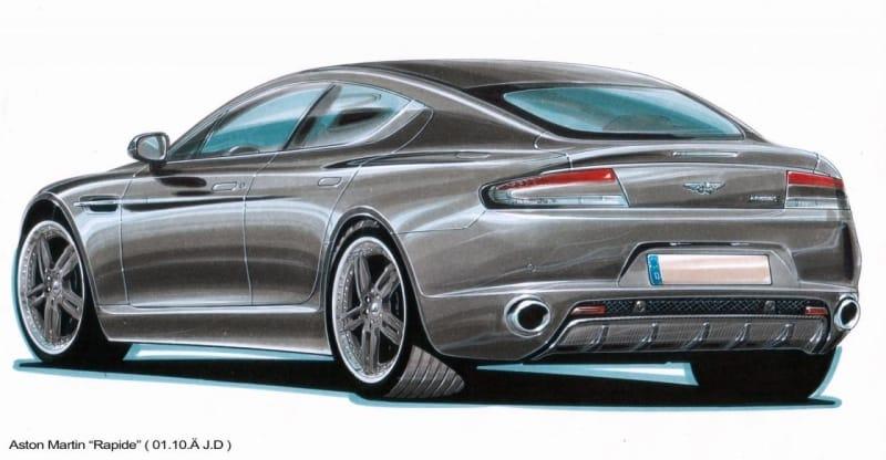 Cargraphic ukázal, jak upraví Aston Martin Rapide