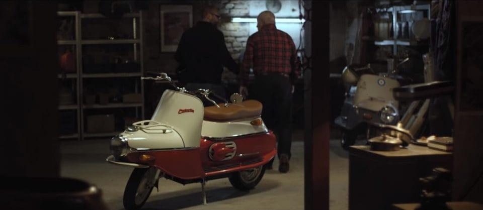 VIDEO: Legendární skútr Čezeta se vrací. Jako elektroskútr