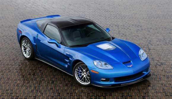 Autem roku podle Jeremy Clarksona je Chverolet Corvette ZR1