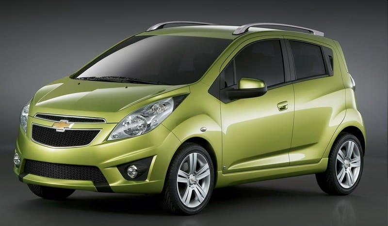 Chevrolet Spark: video, fotografie, technické informace
