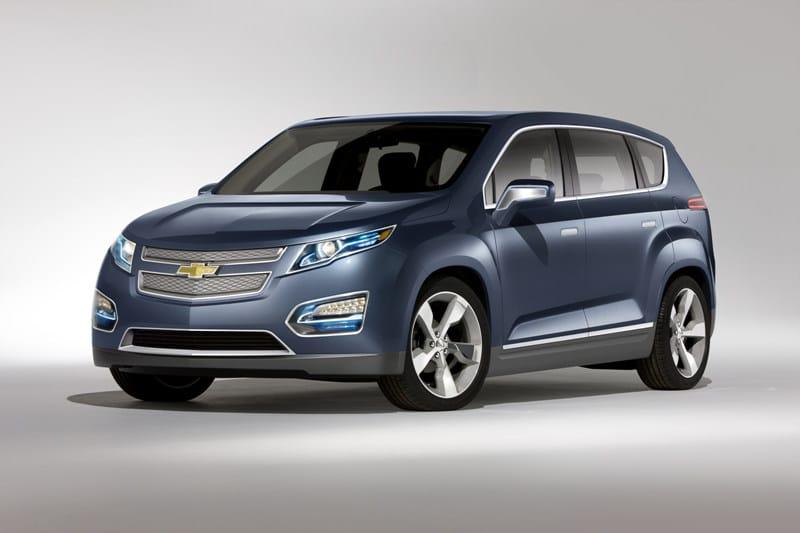 Koncept elektromobilu Chevrolet Volt MPV5 se představil v Pekingu
