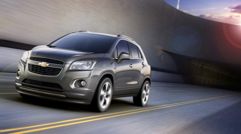 Chevrolet Trax: nové malé SUV pro rok 2013
