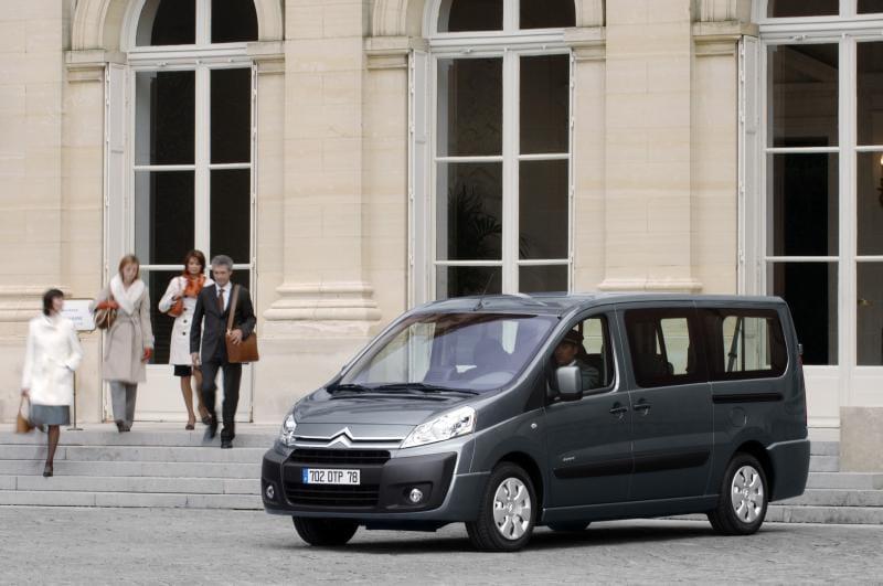 Citroën Jumpy Family: přichází rodinná edice dodávky
