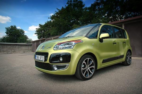 Problém s brzdami: Citroën C3 Picasso jako pro autoškolu