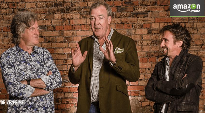 Clarkson, May a Hammond budou mít nový pořad. Odvysílá ho Amazon