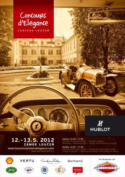 POZVÁNKA: Chateau Loučeň Concours d'Elegance s historickými Ferrari