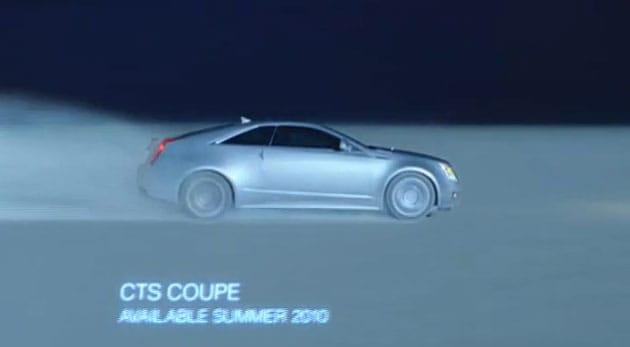 VIDEO: Cadillac CTS Coupe se objevil v první reklamě