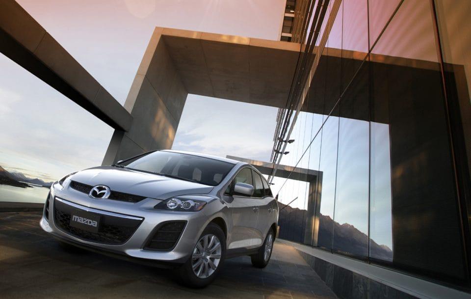 Mazda CX-7: lehký facelift a nový čtyřválec