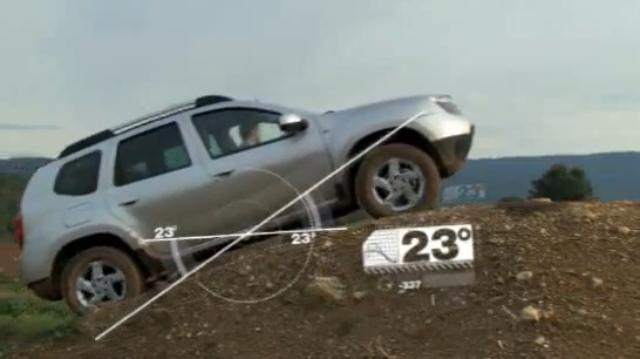 VIDEO: Dacia Duster předvádí, co dokáže v terénu