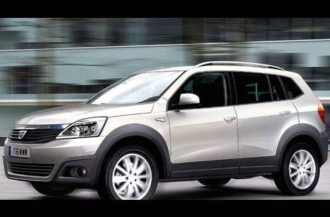 Dacia Duster: tak bude vypadat rumunské SUV