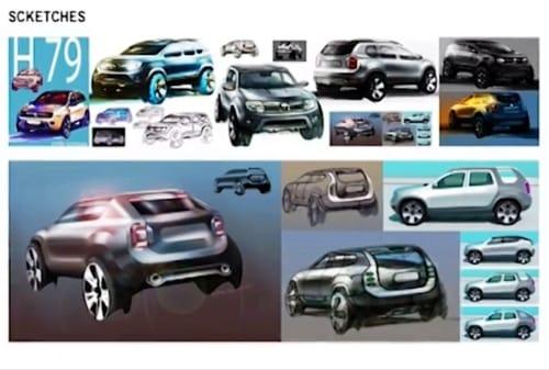 Fotogalerie prototypů: Dacia Duster mohla vypadat jako Renault 4