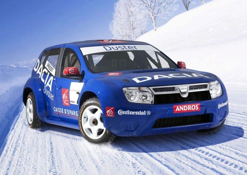 Dacia Duster míří na závodní dráhu. Bude ji řídit Alain Prost