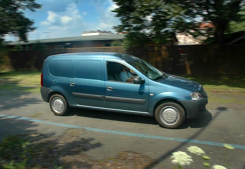 Dacia Logan Van 1.5 dCi: práce všeho druhu