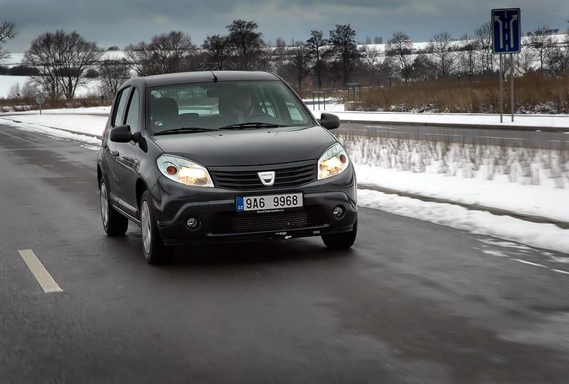 Dacia Sandero 1.5 dCi: tisíc kilometrů s lidovkou