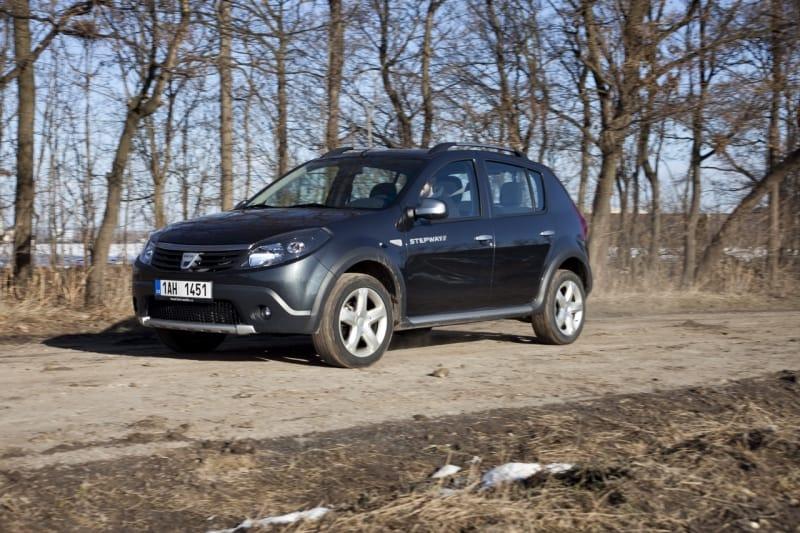 Dacia Sandero Stepway 1.5 dCi: hra na efekt