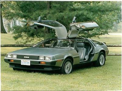DeLorean DMC-12 se vrací. Jako elektromobil